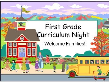 Common Core Back to School Night Powerpoint