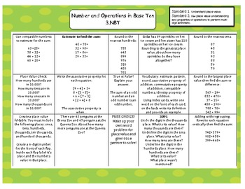 Common Core Based Daily Math Prompts: GRADE 3