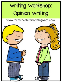 First Grade Opinion Writing
