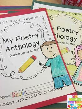 First Grade Poetry Writing
