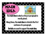 Common Core Based Reading Elements Bookmarks and Posters