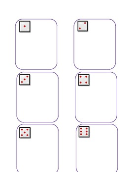 Common Core Beginning Blend Dice Game