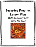Common Core Beginning Fraction Lesson Plan