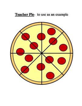 Common Core Beginning Fraction Lesson Plan