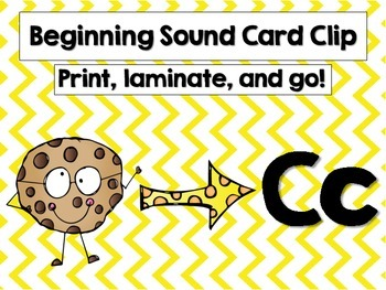 Common Core Beginning Sound Clip It!