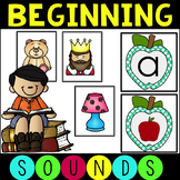 Beginning Sounds Activity Pack with Games