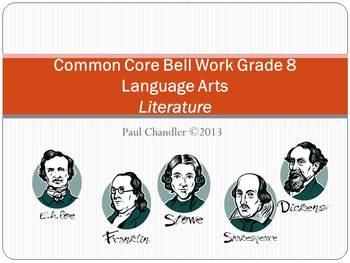 Common Core Bell Work Grade 8 ELA Literature
