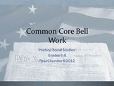 Common Core Bell Work Social Studies Grades 6-8