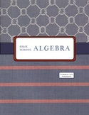 Teacher Binder for Algebra 1