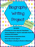 Common Core Biography Writing Project