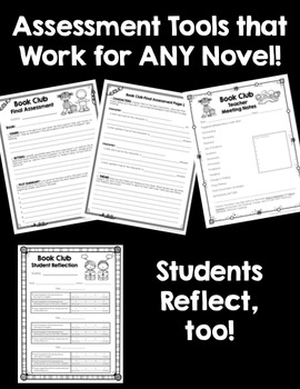 Common Core Book Clubs! Student & Teacher Pages! *Aligned with Grades 4-6 CCSS*
