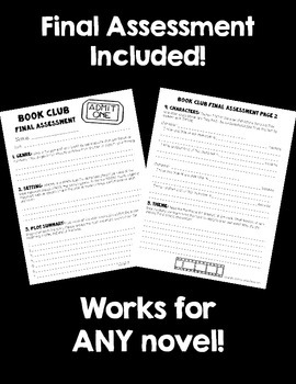 Common Core Book Clubs! Student & Teacher Pages! Hollywood Theme! {4-6 CCSS}