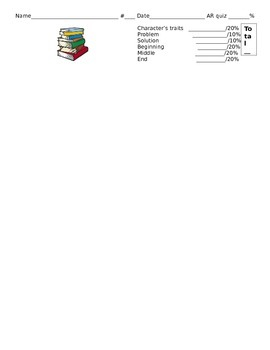 Common Core Book Report