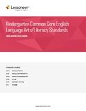 Sentence Frames, Vocabulary, and More for Grade K ELA (Preview)