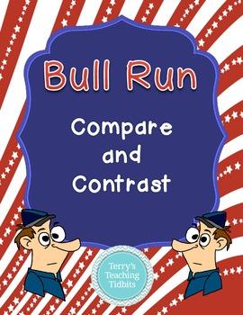 Common Core Bull Run Compare and Contrast  5RL5