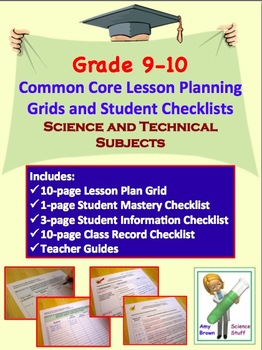 Common Core Bundle Grades 9 and 10 Science and Technical Subjects