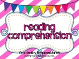Common Core Bundle: Reading Strategies Printables & Graphic Organizers