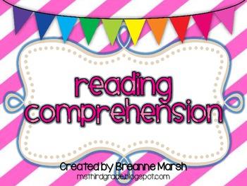 Common Core Bundle: Reading Strategies Printables & Graphic Organizers