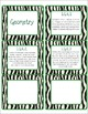 Common Core CCSS 1st Grade Math Labels and Posters-Zebra