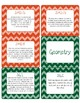 Common Core CCSS 3rd Grade Math Labels and Posters-Chevron