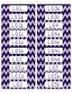 Common Core CCSS 6th Grade ELA Labels and Posters-Chevron