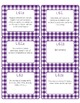 Common Core CCSS 6th Grade ELA Labels and Posters-Gingham