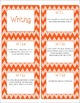 Common Core CCSS 7th Grade ELA Labels and Posters-Chevron  Print
