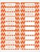 Common Core CCSS 7th Grade Math Labels and Posters-Chevron