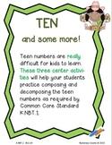 Common Core -CCSS {Kindergarten} - independent centers tea