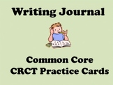 Common Core CRCT Writing Journal Cards