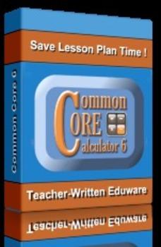 Common Core Calculator 6, Full Version