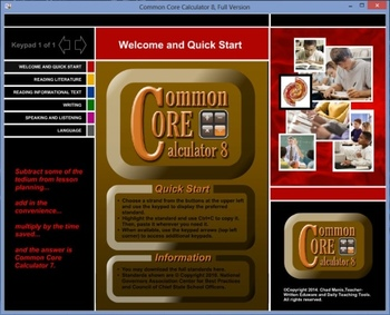 Common Core Calculator 8, Free Version