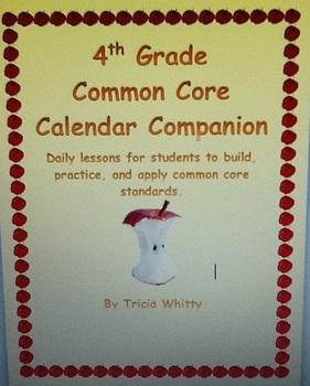 Common Core Calendar Companion