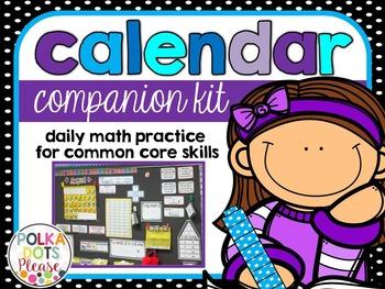 Common Core Calendar Companion Kit for Math