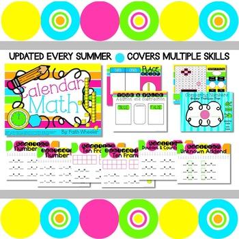 Interactive Calendar Math
