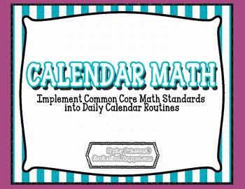 Common Core Calendar Math