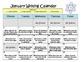 Common Core Calendar Writing Prompts