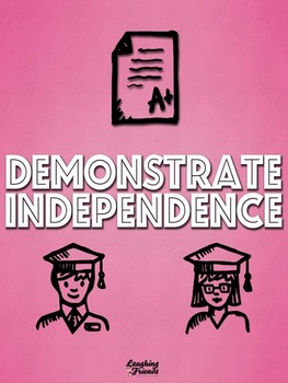 Common Core Capacity Poster (Independence)