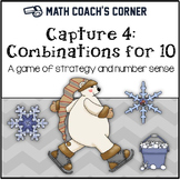 Capture 4 Combinations for 10: Composing and Decomposing Numbers