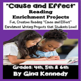 Cause and Effect Projects,  Reading and Writing Enrichment