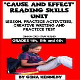 Cause and Effect Lesson, Reading & Writing Activities + Practice Test