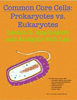 Common Core Cells: Prokaryotes vs Eukaryotes Lesson 2