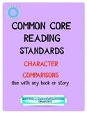 Common Core Character Comparisons