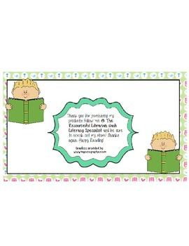 Guided Reading Character Study for any book!