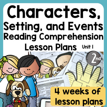 Character Unit Of Study For Second Grade By Trina Deboree Teaching