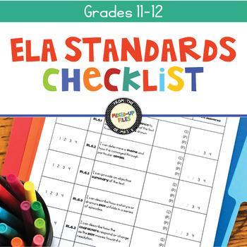 ELA Standards Checklist 11-12