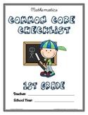 Common Core Checklist - 1st Grade - ELA & MATH