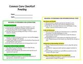 Common Core Checklist - 1st Grade Literacy Standards