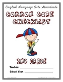 Common Core Checklist - 2nd Grade - ELA & MATH