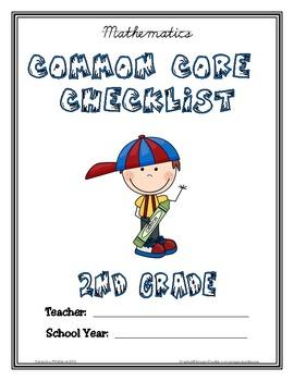 Common Core Checklist - 2nd Grade - MATH